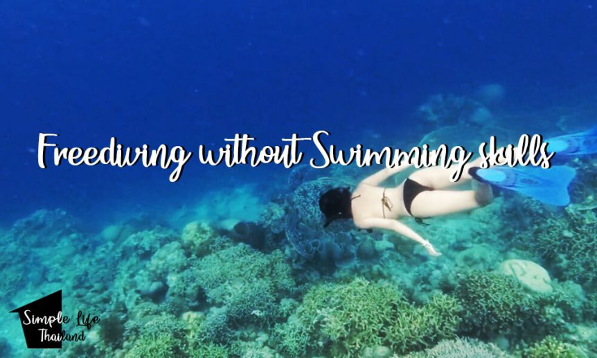 freediving and snorkeling without swimming skills